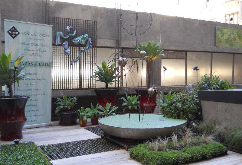 Casa FOA 2012. Terrazas al Este (paisajismo) - Alejandrina del Villar