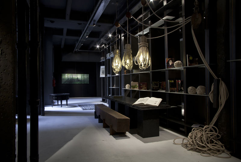 Casa FOA 2012: Hall de Hotel Boutique - Estudio Silvina Descole