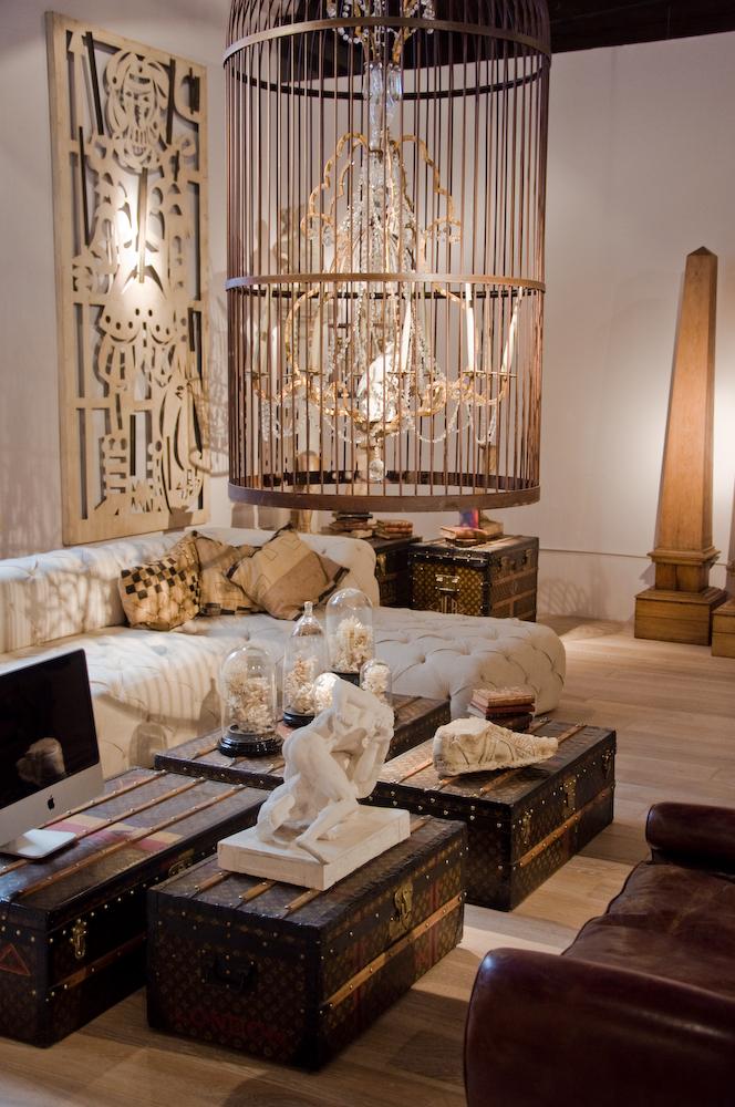 Casa FOA 2012: Living - Gabriel del Campo Anticuario
