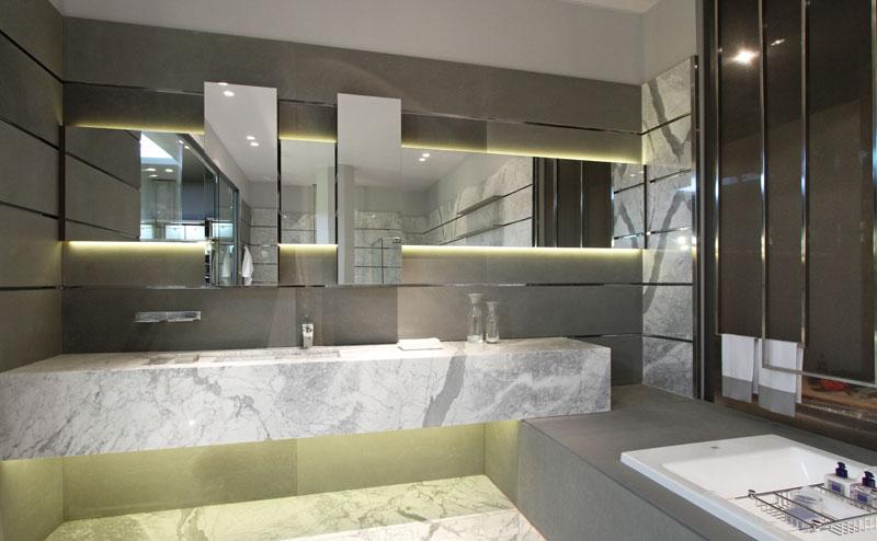 "Botiquin Para Baño Wengue:Casa FOA 2012: ""Desconexión"", Cuarto de Vestir con Baño – Estudio"