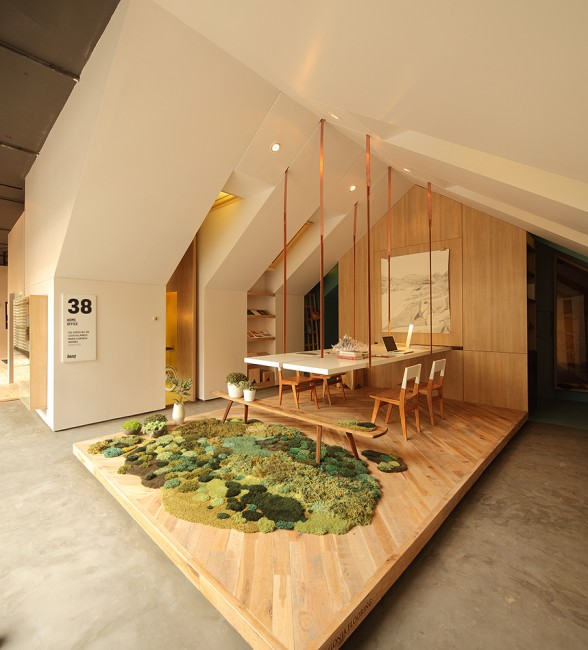 Casa FOA 2012: Home Office - Nidolab